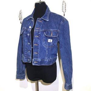 Vintage style 90s Calvin Klein Denim Jacket